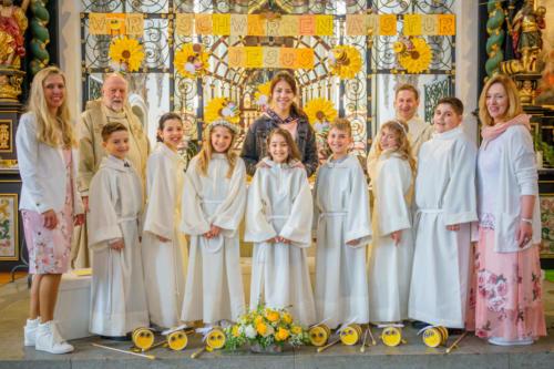 Erstkommunion in Laufenburg