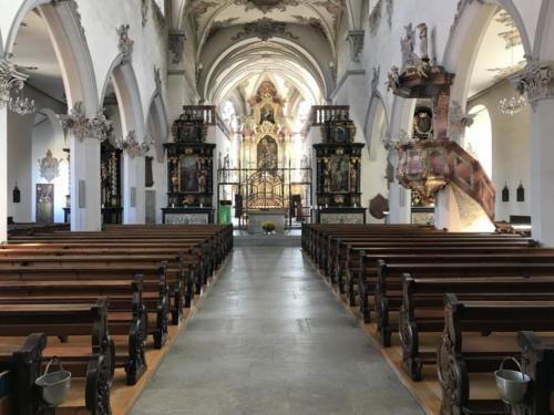 Innenseite der Kirche